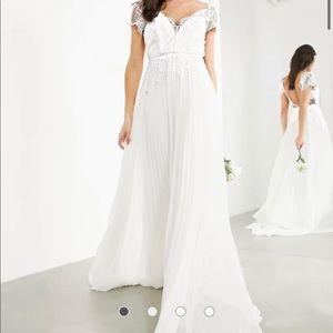 ASOS Sophia Plunge Lace Bridal Dress